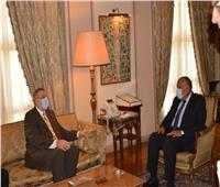 وزير الخارجية يبحث مع المبعوث الأممي التوصل لحل سياسي للأزمة الليبية|صور