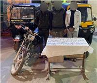 ضبط تشكيل عصابي متخصص في سرقة الدراجات النارية بالخليفة