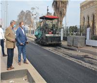 ننشر التفاصيل الكاملة لتطوير الكورنيش ورصف شارع رئيسي ببنها