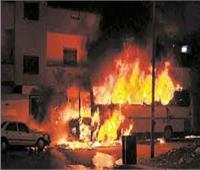 إخماد حريق هائل في 7 منازل وأحواش بسوهاج