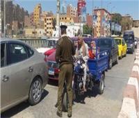 526 مخالفة وإيجابية 3 سائقين لتحليل المخدرات بأسوان