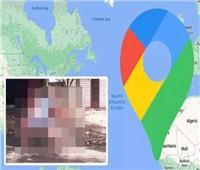 خرائط جوجل تلتقط صورة غير متوقعة لفتاة