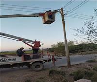 إزالة 95 مخالفة إشغال طريق ببني مزار