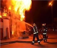 السيطرة على حريق شقة سكنية بالوراق