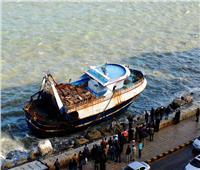 مصرع صيادين وإصابة 5 في تصادم مركبي صيد ببحيرة المنزلة