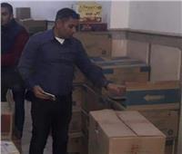 ضبط 1070 علبة سجائر و700 كيلو زيت مجهول المصدر في حملة ببني مزار