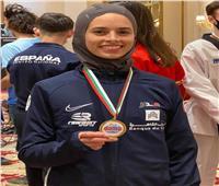 وزير الرياضة يهنئ لاعبة منتخب التايكوندو لفوزها بذهبية بلغاريا المفتوحة