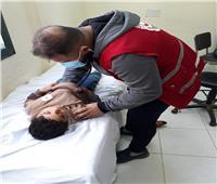 الكشف المجاني على 452 مريضًامن أهالي الشيخ زويد