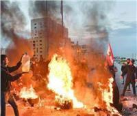 حرق إطارات وإغلاق طرقات في «اثنين الغضب» بلبنان