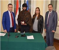 روسيا تمنح اسم الإذاعي شفيع شلبي ميدالية الدبلوماسية الشعبية