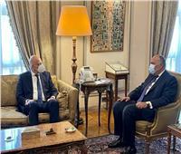 وزير الخارجيةيستقبل نظيرة اليوناني