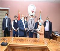 توقيع بروتوكول تعاون بين جامعة سوهاج ومديرية الصحة والسكان