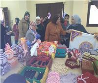 هدايا عيد الأم واحتياجات شهر رمضان في معرض لمنتجات التراث السيناوي