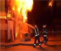 التحريات: ماس كهربائي وراء حريق مطعم شهير بجوار نادي الجزيرة بالزمالك