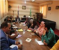 رئيس مدينة الشهداء: نقدم كل الدعم لتنفيذ مشروعات مبادرة «حياة كريمة»