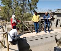 تطوير محطة الصرف الصحى بقرية سنهور ضمن مبادرة «حياة كريمة»