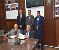 بروتوكول تعاون بين«تجارية الجيزة» وهندسة القاهرة لمتابعة تنفيذ مشروعات«الغرفة»