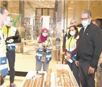 كنوز «الملك توت» كاملة لأول مرة في المتحف الكبير