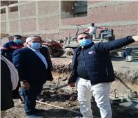 رئيس شركة مياه المنوفية يزور محطة مياه الزراعة بقويسنا