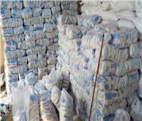 ضبط 6 أطنان سكر مجهول المصدر في القليوبية