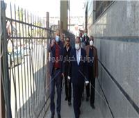 رئيس جامعة حلوان يتفقد توفير قطارات مخصصة للطلاب عقب انتهاء كل امتحان