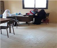 الهلال الأحمر تنظم قافلة طبية  مجانية لأهالي الشيخ زويد
