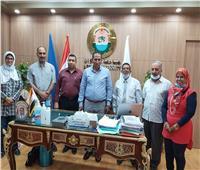 جامعة أسوان: تشارك جامعات مصرية وأوربية لإعداد دبلومة المناعة