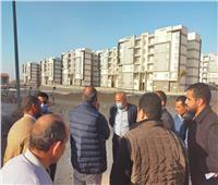 استكمال مشروعات الإسكان الاجتماعي وسكن مصر بمدينة أكتوبر الجديدة