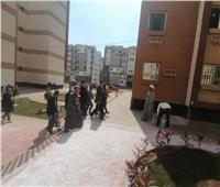 جهاز مدينة بدر: 94% نسبة تنفيذ وحدات سكن العاملين بالعاصمة الإدارية.. صور