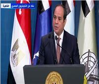 السيسي في يوم الشهيد: عهدنا استكمال العطاء لشعب مصر