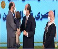استجابة لـ«الأخبار».. الرئيس السيسي يكرم طبيب كورونا الذي فقد بصره