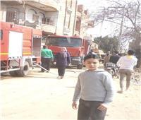 إخماد حريق شب بعقار في محافظة المنوفية دون خسائر
