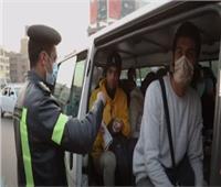 75 محضر كمامات وغلق 13 محل تجاري بسبب الإجراءات في بني سويف