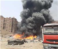 الحماية المدنية تنجح في إخماد حريق مخلفات بالقاهرة الجديدة