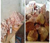 ضبط مواد غذائية منتهية الصلاحية بإحدى الشركات غرب الإسكندرية