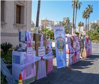 توزيع أجهزة كهربائية لعرائس الأسر الأولى بالرعاية بقرى الإسكندرية