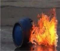 بسبب أنبوبة بوتاجاز.. حريق في منزل بنجع حمادي