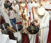 اليوم.. الكنيسة الأرثوذكسية تستعد لإقامة طقس صنع «زيت الميرون»