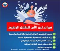 «الصحة»: 5 فوائد يمنحها لبن الأم للطفل الرضيع