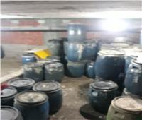 ضبط مصنعين لإعادة تصنيع زيت الطعام بأوسيم
