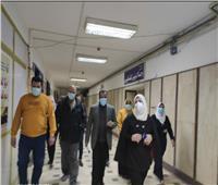 نائب محافظ مطروح تتفقد أقسام مستشفى مطروح العام