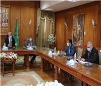 تعاون مشترك بين جامعة المنوفية ومديرية الري لتنفيذ المشروعات التنموية