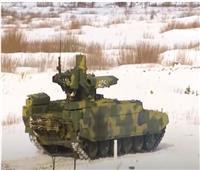 أول اختبار لمركبات «ترميناتور» القتالية بالجيش الروسي |فيديو