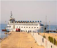 «التحرر الحذر».. ميناء الطور يستقبل أول سفينة تجارية منذ اندلاع «كورونا»   صور