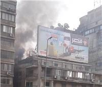 حريق هائل بجوار نادي الزمالك.. والحماية المدنية تدفع بسيارات الإطفاء
