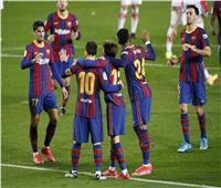 ميسي يقود برشلونة أمام باريس سان جيرمان بدوري الأبطال