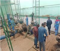 500 إسطوانة أكسجين للعزل المنزلي في أسوان وحل مشاكل ضعف مياه الشرب