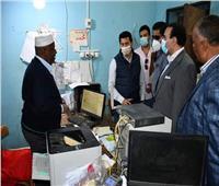 وزير الشباب يفتتح عدة مشروعات في زيارة مفاجئة لمحافظة الأقصر