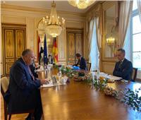 وزير الخارجية يلتقي نظيره «الألماني» على هامش زيارته لـ«باريس»