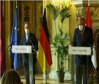 بث مباشر  مؤتمر صحفي لوزراء خارجية مصر والأردن وفرنسا وألمانيا